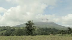 Arenal Volcano Time Lapse Stock Footage