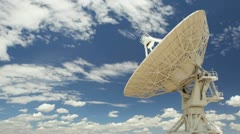 Very Large Array Antenna Stock Footage