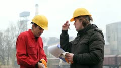 Industrial Workers Stock Footage