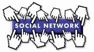 Stock Video Footage of Crowded social network