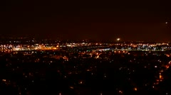 Night Landings Time Lapse HD1080 Stock Footage