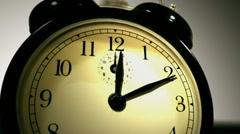Alarm clock going off Stock Footage