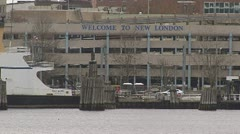 New London, Connecticut Stock Footage