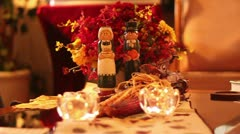 Thanksgiving dolls - stock footage