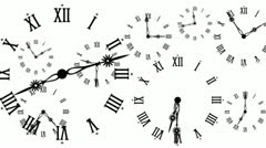 Clocks Stock Footage