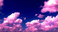 Stock Video Footage of pink clouds