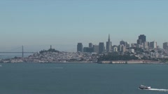 San francisco skyline Stock Footage