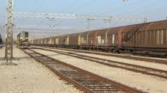 Diesel locomotive _1 Stock Footage