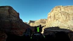 Flight through Grand Canyon of San Rafael 3 P HD 0017 Stock Footage