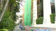 Bamboo Scaffolding Stock Footage