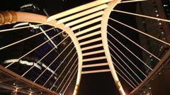 Bridge Structure Stock Footage