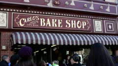 Carlo's Bake Shop from Cake Boss Stock Footage