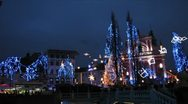 Stock Video Footage of HD: Ljubljana Christmas Decoration