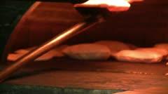 Baker kneading Stock Footage