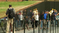 Vietnam Veterans Memorial (LP-Washington-097) Stock Footage