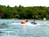 Stock Video Footage of Summer teen tubing 1