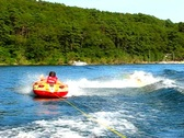 Stock Video Footage of Summer teen tubing 5