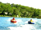 Stock Video Footage of Summer teen tubing 7