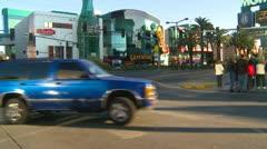 Las Vegas Strip, day, Ambulance responding - stock footage