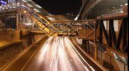 Stock Video Footage of Tel Aviv Ayalon Expressway timelapse