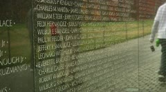 Vietnam Veterans Memorial (LP-Washington-109b) Stock Footage