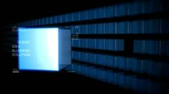 Idea Cubes Stock Footage