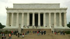 Lincoln Memorial (LP-Washington-131) Stock Footage
