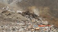 Stock Video Footage of Garbage dump