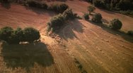 Stock Video Footage of Aerial views of fields