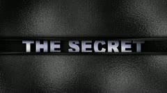 The Secret Metal Wall - HD1080 Stock Footage