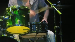 HD: Rock Drummer Stock Footage