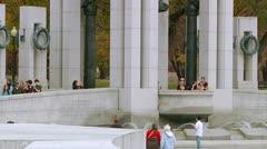 World War II Memorial (LP-Washington-187) Stock Footage