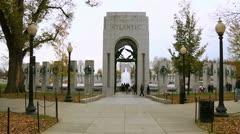 World War II Memorial (LP-Washington-198) Stock Footage