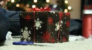 Stock Video Footage of Wrapping Christmas Presants 13