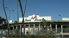 ROSE BOWL TRACKING SHOT 2 Stock Footage