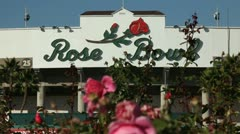 ROSE BOWL STATIC Stock Footage