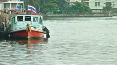 Thai Boat Stock Footage