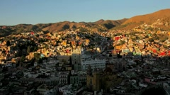 Timelapse of Guanajuato in Mexico Stock Footage