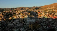 Stock Video Footage of Timelapse of Guanajuato in Mexico
