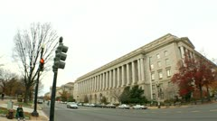 IRS and Smithsonian Museum of Natural History (LP-Washington-252) Stock Footage