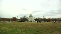 Capitol Building (LP-Washington-275) - stock footage
