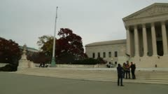 US Supreme Court Building (LP-Washington-320) Stock Footage