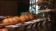 Stock Video Footage of Luxury nut bar