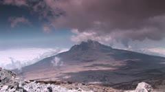 Kilimanjaro Mawenzi Timelapse Stock Footage