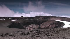 Kilimanjaro Summit Crater Timelapse Stock Footage