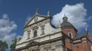 Stock Video Footage of Church in Old Town, Krakow, Poland