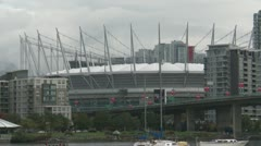 Vancouver BC Place Stock Footage
