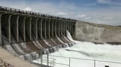 Jackson lake Dam - stock footage
