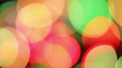 Bokeh - transition Stock Footage