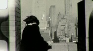 Stock Video Footage of New York City Observation Deck Circa 1945 (Vintage Film Home Movie) 1454